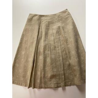 ドゥファミリー(DO!FAMILY)のドゥファミリー 綿麻 スカート (ひざ丈スカート)