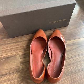 ボッテガヴェネタ(Bottega Veneta)の箱付き 美品bottega veneta 靴 パンプス バレーシューズ (ハイヒール/パンプス)