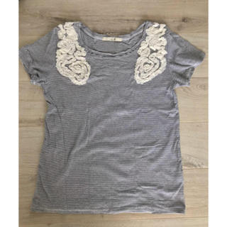 サニーレーベル(Sonny Label)のアーバンリサーチ サニーレーベル ボーダーTシャツ(Tシャツ(半袖/袖なし))