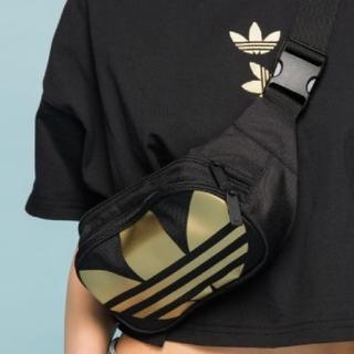 adidas - 未使用*adidas*ウエストポーチ*ゴールド*オリジナルス
