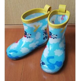 ディズニー(Disney)のミッキーマウス 長靴 レインシューズ 14.0cm(長靴/レインシューズ)