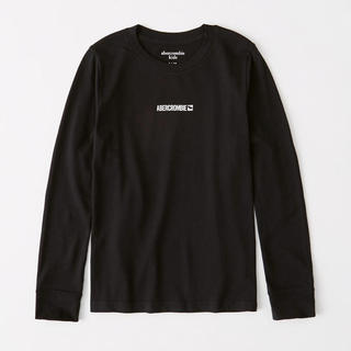 Abercrombie&Fitch - 新品★ アバクロ キッズ  長袖 ロゴ Tシャツ 7-8歳