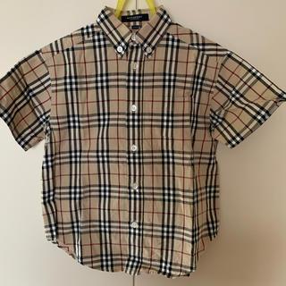 バーバリー(BURBERRY)の半袖シャツ ハーフパンツ 男児用 110センチ (ブラウス)