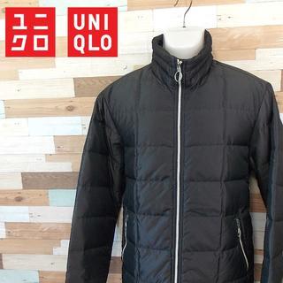 ユニクロ(UNIQLO)の【UNIQLO】 美品 ユニクロ 中綿ナイロンジャケット ナイロン サイズL(ブルゾン)