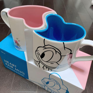 Francfranc - ディズニー ハート カップル マグカップ