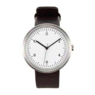 ムジルシリョウヒン(MUJI (無印良品))の【新品】MUJI 腕時計・Wall Clock・シルバー (腕時計)
