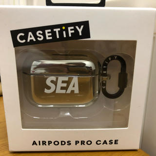 シー(SEA)のwind and sea  AirPods proケース(iPhoneケース)