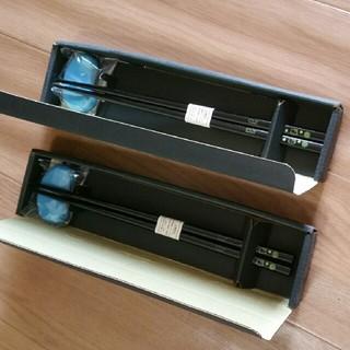 サンリオ(サンリオ)の日本製 新品 キティ お箸 箸置き 2セット(カトラリー/箸)