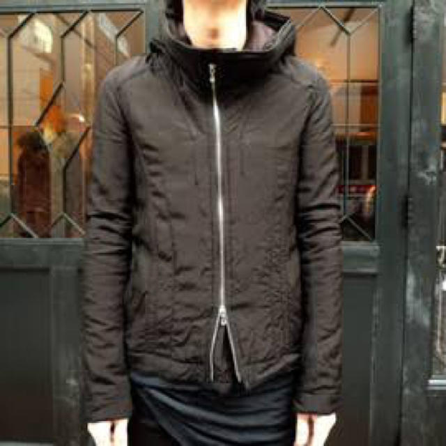 JULIUS(ユリウス)のMA JULIUS 中綿フードジャケット ユリウス ニルズ Gero メンズのジャケット/アウター(ブルゾン)の商品写真