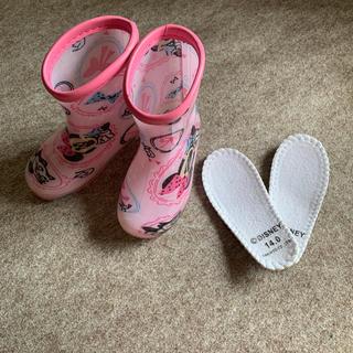ディズニー(Disney)の長靴 レインブーツ 14cm ミニーちゃん (長靴/レインシューズ)