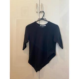 コムデギャルソン(COMME des GARCONS)のCOMME des GARCONS ゴムデギャルソン アシンメトリーカットソー(Tシャツ/カットソー(半袖/袖なし))