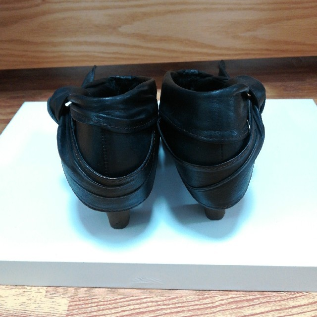 AU BANNISTER(オゥバニスター)の【美品】24.5ブーティ黒 レディースの靴/シューズ(ブーティ)の商品写真