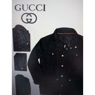グッチ(Gucci)の グッチ 黒 ジャンパー 46(ブルゾン)
