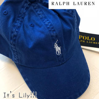 ラルフローレン(Ralph Lauren)の2-4t ラルフローレン キャップ ブルー 青(帽子)
