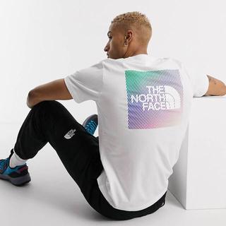 ザノースフェイス(THE NORTH FACE)のThe North Face レインボーボックスグラフィックTシャツ(Tシャツ/カットソー(半袖/袖なし))