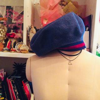 ヴィヴィアンウエストウッド(Vivienne Westwood)の👑ヴィヴィアンウエストウッド👑2019年完売商品‼️レアベレー帽🌺(ハンチング/ベレー帽)