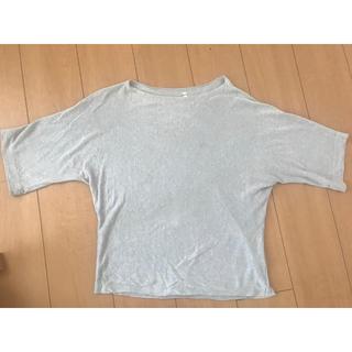 ムジルシリョウヒン(MUJI (無印良品))の無印良品 麻100%(カットソー(半袖/袖なし))