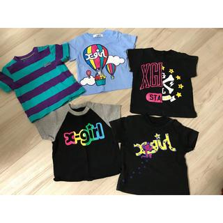 エックスガールステージス(X-girl Stages)のエックスガールステージス 80 90 95 Tシャツ 5枚セット(Tシャツ/カットソー)