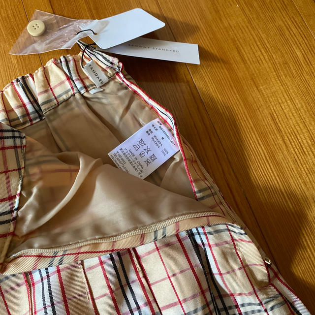 WEGO(ウィゴー)のチェックプリーツミニスカート レディースのスカート(ミニスカート)の商品写真