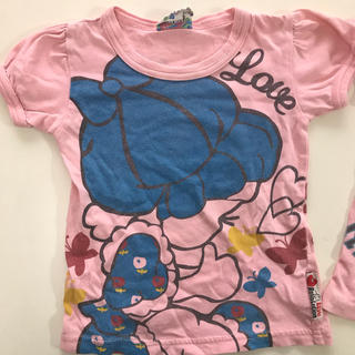 ラブレボリューション(LOVE REVOLUTION)のラブレボリューション Tシャツ100サイズ(Tシャツ/カットソー)