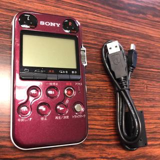 ソニー(SONY)の美品★SONYリニアPCMレコーダー  PCM-M10 ボイスレコーダー(その他)