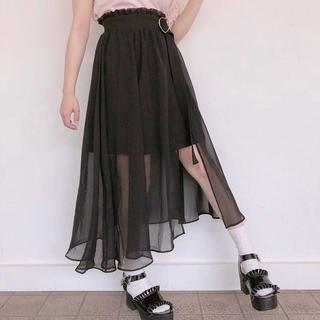 ハニーシナモン(Honey Cinnamon)のフレアラップスカート(ひざ丈スカート)