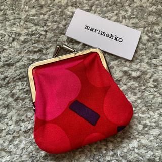 マリメッコ(marimekko)のマリメッコ がま口 小銭入れ ミニポーチ 新品(コインケース)