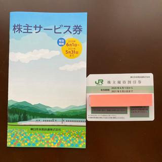 JR - JR東日本 株主優待券 &サービス券
