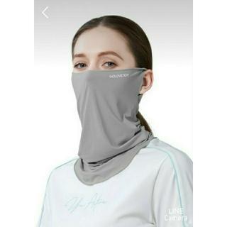 訳あり 2枚組 フェイスマスク スポーツ UVカット ひんやり冷感 (ウォーキング)