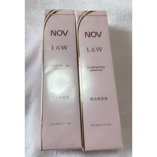 ノブ(NOV)のノブ L&W ブライトニングエッセンス 新品 未使用(美容液)