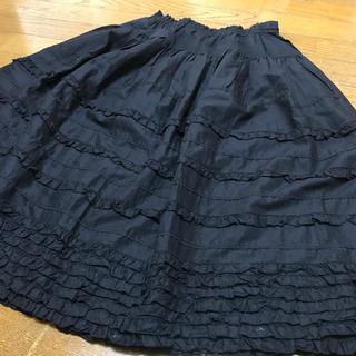ピンクハウス(PINK HOUSE)のウエストゴム‼️豪華なスカート☆ピンクハウス(ひざ丈スカート)