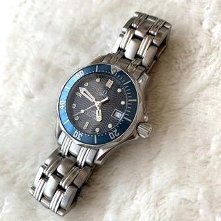 オメガ(OMEGA)の美品!オメガ シーマスター  300M レディース 2583.80(腕時計)