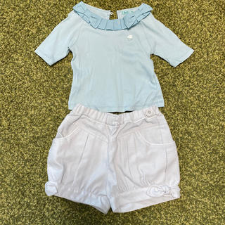 トッカ(TOCCA)のtocca bambini トップス ショートパンツ セット(Tシャツ/カットソー)
