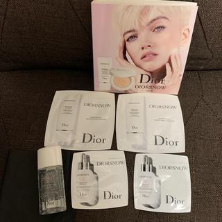 ディオール(Dior)のDIOR-ディオールスノーサンプルセット(洗顔料)