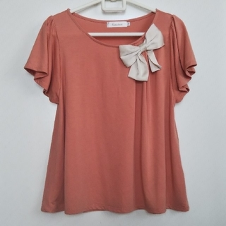 クチュールブローチ(Couture Brooch)のカットソー チュニック Tシャツ Couture brooch(カットソー(半袖/袖なし))