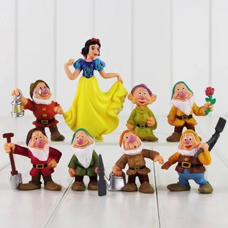 ディズニー(Disney)のお値下げ中!新品꙳★*゚白雪姫と7人の小人 フィギュア(キャラクターグッズ)