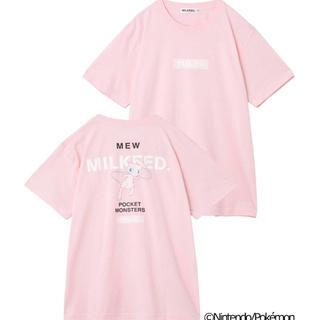 ミルクフェド(MILKFED.)のミルクフェド ポケモン ミュウ(Tシャツ(半袖/袖なし))