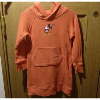 ディズニー(Disney)のディズニー ミッキーとミニーのパーカー サイズ100 <b289>(ジャケット/上着)