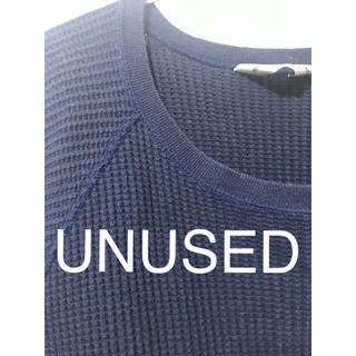 アンユーズド(UNUSED)のUNUSEDのワッフルカットソー(Tシャツ/カットソー(七分/長袖))
