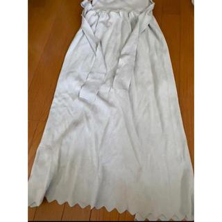 ラグナムーン(LagunaMoon)のLAGUNAMOON ニットタイトスカート(ひざ丈スカート)
