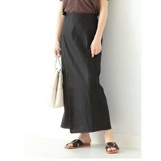 デミルクスビームス(Demi-Luxe BEAMS)の『Saya様専用』Demi-Luxe BEAMS パイピングラップスカート S(ロングスカート)