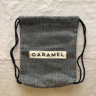 キャラメルベビー&チャイルド(Caramel baby&child )のcaramel 限定ナップサック【新品 未使用】(リュックサック)