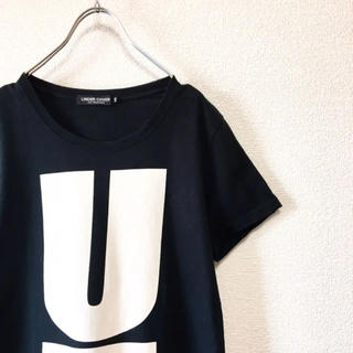 UNDERCOVER - 【Trend】UNDER COVER Uロゴ プリント Tシャツ ブラック XS