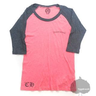 クロムハーツ(Chrome Hearts)のYGG★正規 本物 クロムハーツ 七分袖 Tシャツ ラグラン 2 レディース(Tシャツ(長袖/七分))