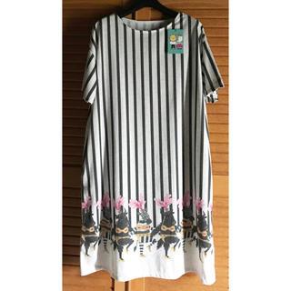 グラニフ(Design Tshirts Store graniph)のグラニフワンピース ヤクとシマウマ 『新品・未使用』(その他)