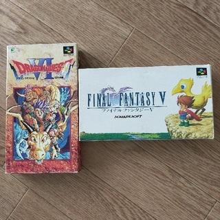 お値下げ ドラクエ6 ファイナルファンタジー5(家庭用ゲームソフト)