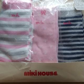 mikihouse - 新品 ミキハウス 靴下 19-21cm Panko