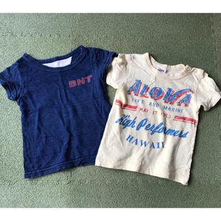 ジャンクストアー(JUNK STORE)のTシャツ 90㎝  2着(Tシャツ/カットソー)