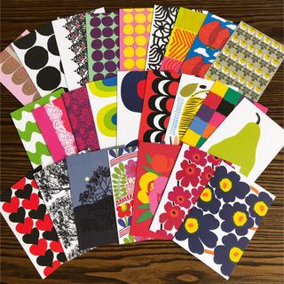 マリメッコ(marimekko)のマリメッコポストカード25枚(その他)