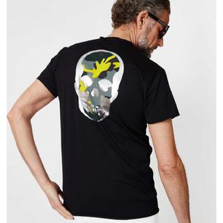 ウノピゥウノウグァーレトレ(1piu1uguale3)の美品 限定 1piu1uguale3 ペラフィネコラボTシャツ イエロー AKM(Tシャツ/カットソー(半袖/袖なし))